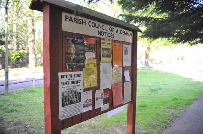 Letchmore Heath Parish Noticeboard